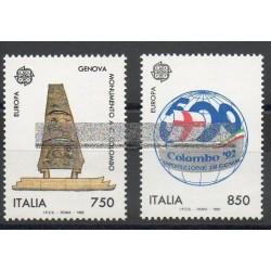 Italie - 1992- No 1940/1941 - Christophe Colomb