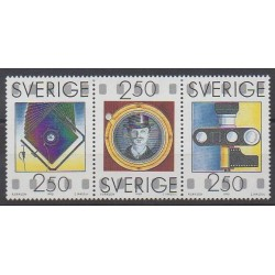 Sweden - 1990 - Nb 1612/1614 - Science