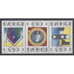 Suède - 1990 - No 1612/1614 - Sciences et Techniques