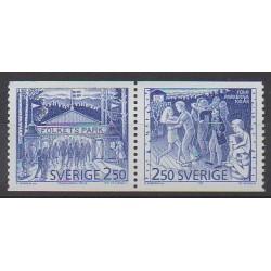 Suède - 1991 - No 1651/1652
