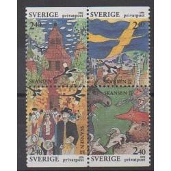Suède - 1991 - No 1645/1648
