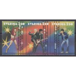 Suède - 1991 - No 1667/1669 - Musique