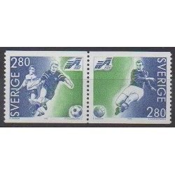Sweden - 1992 - Nb 1697/1698 - Football
