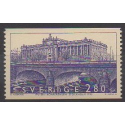 Sweden - 1992 - Nb 1719 - Bridges