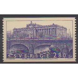 Sweden - 1992 - Nb 1719 - Bridges