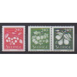 Sweden - 1993 - Nb 1749/1751 - Fruits or vegetables