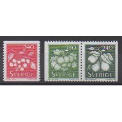 Suède - 1993 - No 1749/1751 - Fruits ou légumes