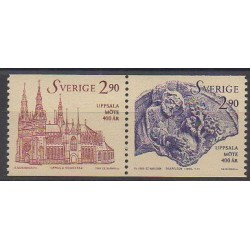 Sweden - 1993 - Nb 1752/1753 - Churches