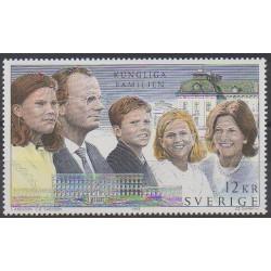 Suède - 1993 - No 1778 - Royauté - Principauté