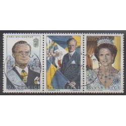 Suède - 1993 - No 1775/1777 - Royauté - Principauté - Oblitérés