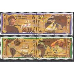 Timbres - Thème Christophe Colomb - Gibraltar - 1992- No 647/650