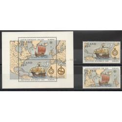 Islande - 1992- No 715/716 - BF 13 - Christophe Colomb