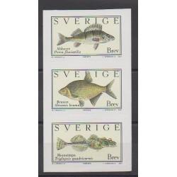 Sweden - 2001 - Nb 2227/2229 - Sea animals
