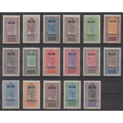 Sudan - 1921 - Nb 20/36 - Mint hinged