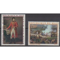 Mali - 1969 - Nb PA66/PA67 - Napoleon - Paintings