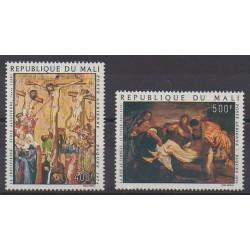 Mali - 1974 - No PA214/PA215 - Pâques - Peinture