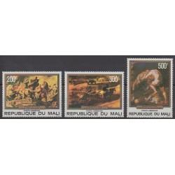 Mali - 1978 - Nb PA315/PA317 - Paintings
