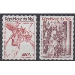Mali - 1980 - No PA384/PA385 - Pâques - Peinture