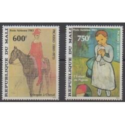 Mali - 1981 - No PA427/PA428 - Peinture