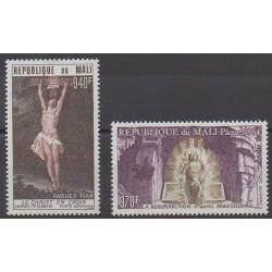 Mali - 1984 - Nb PA492/PA493 - Easter - Paintings