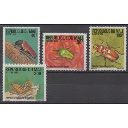 Mali - 1994 - No 626/629 - Insectes