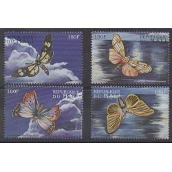 Mali - 1998 - No 1227/1230 - Insectes