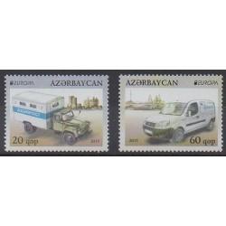 Azerbaïdjan - 2013 - No 827/828 - Service postal - Europa