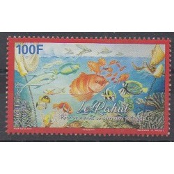 Polynesia - 2019 - Nb 1211 - Sea animals