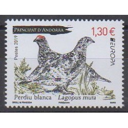 Andorre - 2019 - No 830 - Oiseaux - Europa