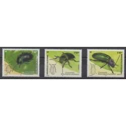 Nouvelle-Calédonie - 2005 - No 960/962 - Insectes