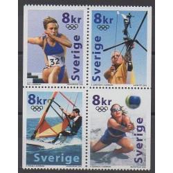 Sweden - 2000 - Nb 2165/2168 - Summer Olympics