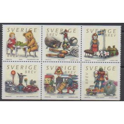 Sweden - 2000 - Nb 2178/2183 - Childhood