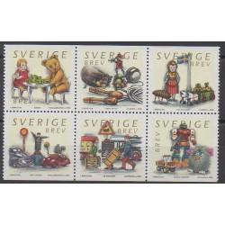 Suède - 2000 - No 2178/2183 - Enfance