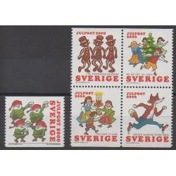 Sweden - 2000 - Nb 2184/2188 - Christmas