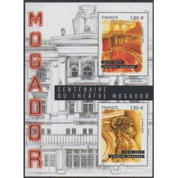 France - Blocks and sheets - 2019 - Nb F5313 - Monuments