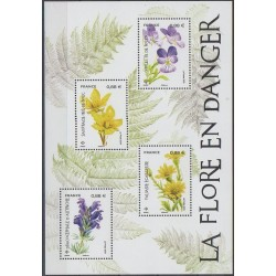 France - Blocks and sheets - 2019 - Nb F5322 - Flowers