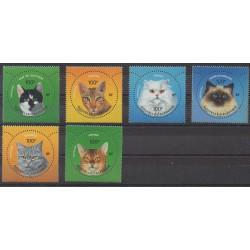 New Caledonia - 2004 - Nb 923/928 - Cats
