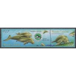 Nouvelle-Calédonie - 2003 - No 898/899 - Animaux marins