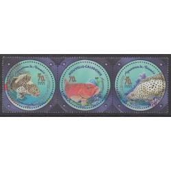 Nouvelle-Calédonie - 2003 - No 890/892 - Animaux marins