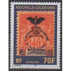 Nouvelle-Calédonie - 2003 - No 889 - Timbres sur timbres