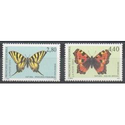 Andorre - Poste - 1994- No 451/452 - Butterflies