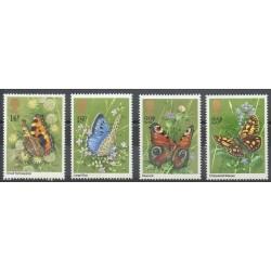 Grande-Bretagne - 1981- No 992/995 - Butterflies
