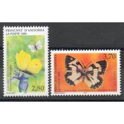Andorre - Poste - 1995- No 462/463 - Butterflies
