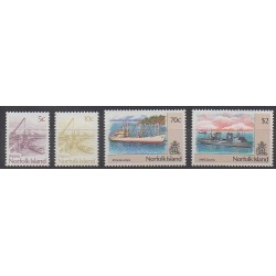 Norfolk - 1990 - Nb 473/476 - Boats