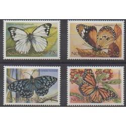 Norfolk - 1997 - No 615/618 - Insectes