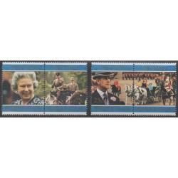 Norfolk - 1997 - No 624/627 - Royauté - Principauté