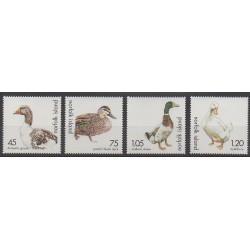 Norfolk - 2000 - No 684/687 - Oiseaux