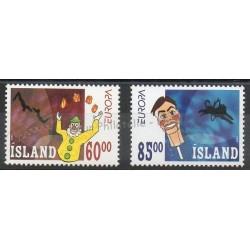 Iceland - 2002- Nb 937/938 - Circus