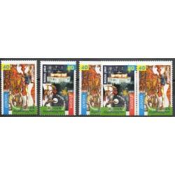 Géorgie - 2002- No 299/300 - 299a/300a - 299b/300b - Cirque