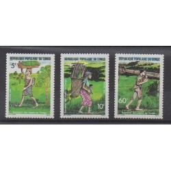 Congo (Republic of) - 1986 - Nb 776/778 - Transport